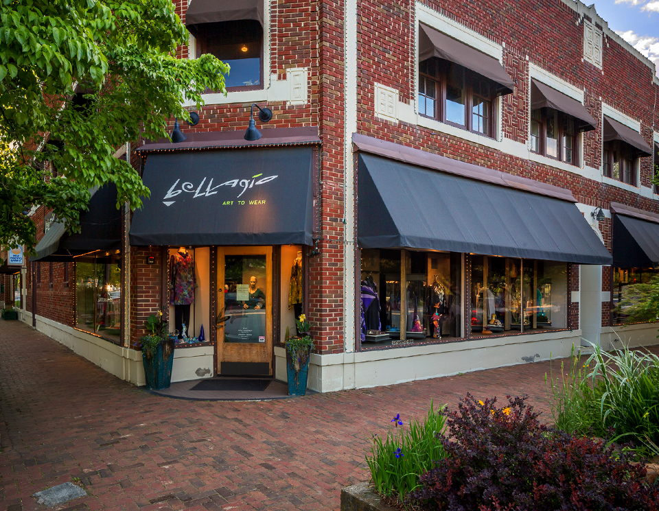 Bellagio Art to Wear's original store in Biltmore Village