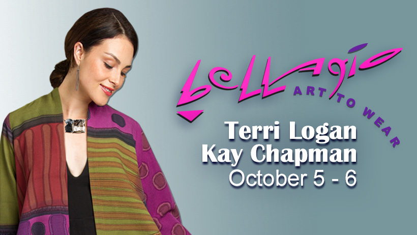 Terri Logan and Kay Chapman  Trunk Show, Bellagio
